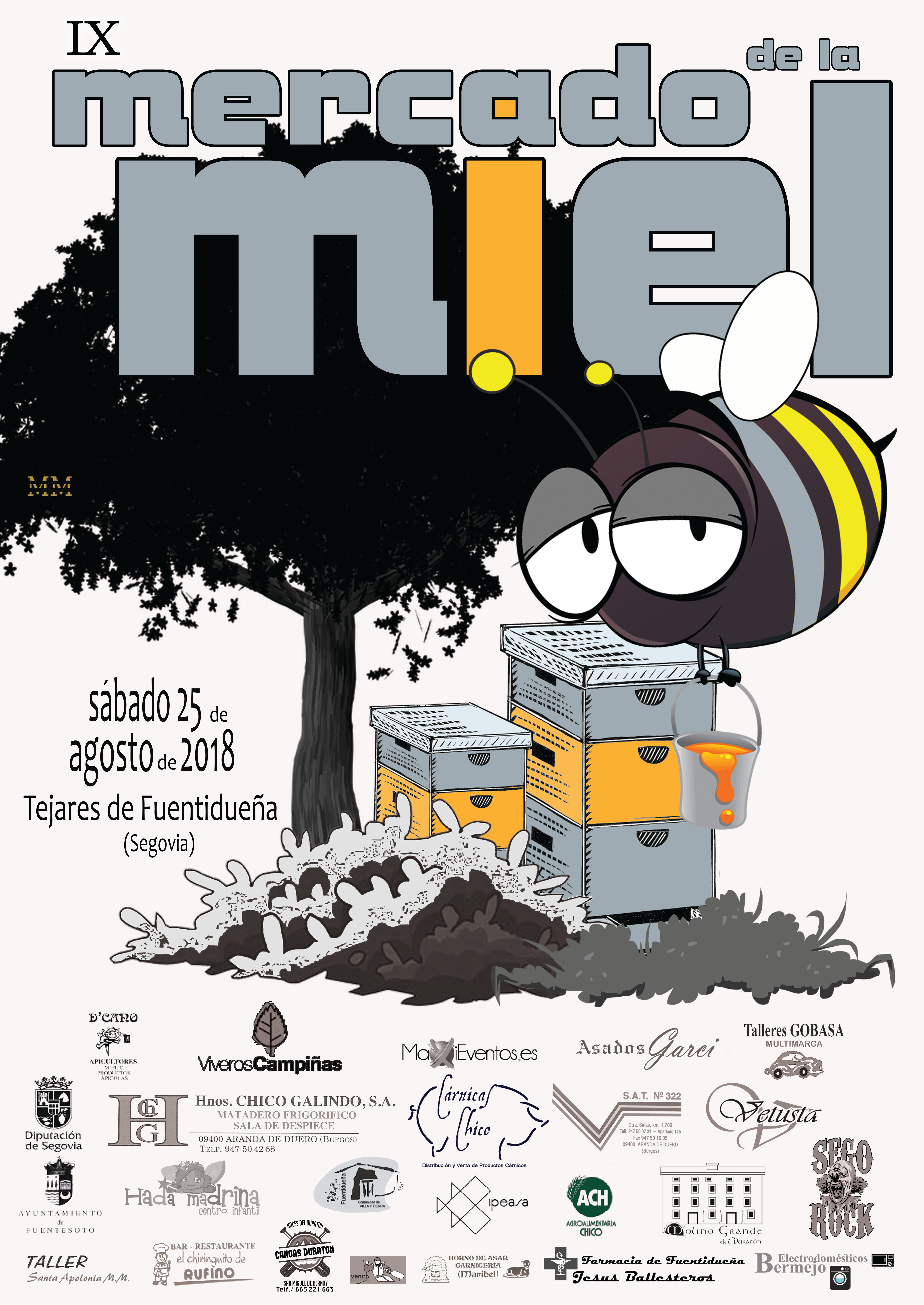 Cartel IX Mercado 18