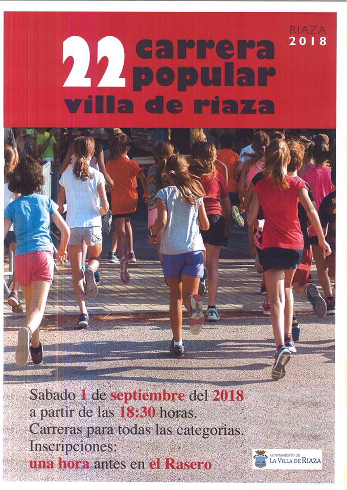 carrera popular riaza